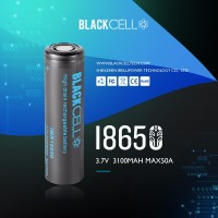 BLACKCELL 18650 3100mAh 50A Batteries by Brillipower