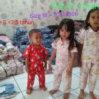 PALING LARISSS Piyama Baju Tidur Anak Katun Catra Premium