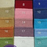 bandana inner rajut premium motif salur murah
