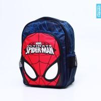 Spiderman Mask Rucksack M - Adinata / Tas sekolah ransel anak / Bag