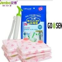 Jual Vakum Bag Pakaian Wenbo / Vacum Plastic Storage / Vacuum Plastik Murah