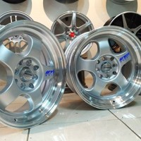 Meister R16 x 7.0/8.5  H8 PCD 100-114.3 ET 35/30 Silver Machined Lips