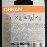 Limited Osram LED T10 W5W Putih Lampu Senja Kota Plat Nomor Plafon K
