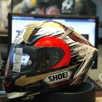 Helm Shoei X14 X Fourteen Marquez Motegi