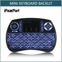 IPazzPort Mini 2.4GHz Wireless QWERTY Keyboard