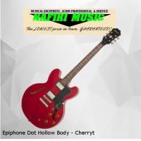 Epiphone Dot Hollow Body - Cherry 100% Original