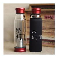 Botol Minum Kaca / Tumbler Kaca / My bottle Glass Infused