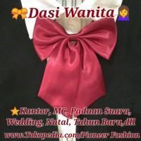 Jual Dasi Merah Dasi Kupu Kupu Dasi Import Dasi wanita Murah