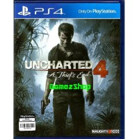 [Sony PS4] Uncharted 4: A Thief's End Murah