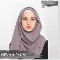 JILBAB Nevan Plum By Zaskia Mecca