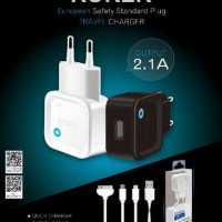 ROKER CHARGER IPHONE 1 PORT 2.1 A TRAVEL WALL HP FAST CARGER 5 6 7 8 X