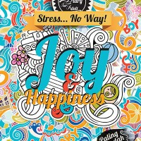 Jual Coloring Diary For Adult: Joy & Happiness HC (Hard Cover) Murah