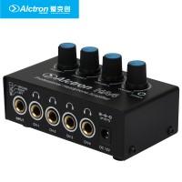 ALCTRON HA4 - MINI HEADPHONE AMPLIFIER 4 CHANNEL - AUDIO SPLITTER