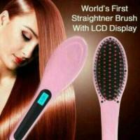 Jual MURAH Catok sisir pelurus rambut hqt-906 / fast hair / PLUS BUBBLE Murah