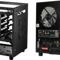 Jual Jonsbo W1 Window Black Mini ITX Case | Aluminium Steel Compute   Murah