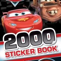 Buku Impor Anak Disney Pixar Cars 2000 Sticker Book Original Termurah