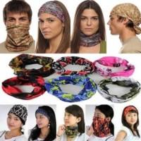 Harga asli buff bando bandana masker multifungsi penutup muka motor | Pembandingharga.com