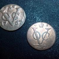 Uang Koin Kuno Lama Zaman VOC