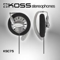 Koss KSC75 The Legend of Bass Headphone