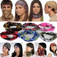 Harga unik buff bando bandana masker multifungsi penutup muka motor | Pembandingharga.com