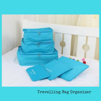 Jual LARISS!! Traveling Bag in Bag Organizer (1 set isi 6 pcs ) Murah