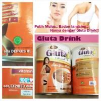 Jual Meningkatkan dan pencerahan kesehatan kulit. GLUTA DRINK ORIGINAL Murah