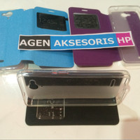 Best Leather Case n Cover Flip Andromax E2 E2 Plus 4 5 Sarung HP