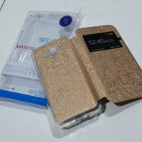 Best Leather Case n Cover FlipUME Samsung J2 J3 J5 J7 Sarung HP