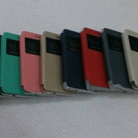 Best Leather Case n Cover FlipUME Andromax R2 E2 Sarung HP Smartfren