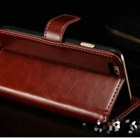 Best Leather Case n Cover FLIP LEATHER WALLET CASE FOR IPHONE 6 6S 4