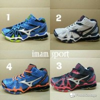 SEPATU MIZUNO WAVE TORNADO 9 HIGH BASKET BALL PREMIUM QUALITY