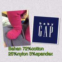 Legging Baby Gap Premium Tights Bayi Polos Tutup Kaki (Pakaian Anak)