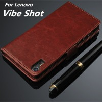Wallet Case Lenovo Vibe Shot Flip Leather Case