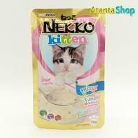 Nekko - Kitten Tuna Mousse 70g kornet kucing