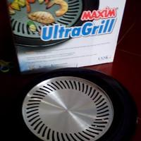 EXCLUSIVE Alat Panggang / Pemanggang / Bbq 25 Cm Ultra Grill Maxim M
