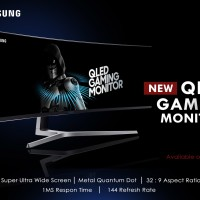 Jual Samsung QLED Gaming Monitor LC49HG90DME 49 Inch Super Ultra Wide Murah