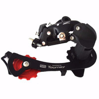 LIMITED EDITION Shimano Tourney Rd Rear Derailleur SIS TZ 6 7 speed HO