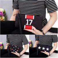 Dompet Givenchy ZipAround In Black Handwallet 8259(Wallet wanita kartu