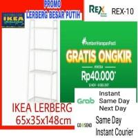 Rak Barang / Buku Simpel Minimalis 60 x 35 x 148 cm IKEA LERBERG