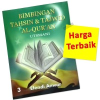 Buku Tahsin UTSMANI 3 Dewasa [Belajar Membaca Al-Qur'an]