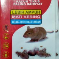Racun Tikus SUPER KERAS MATI KERING 100% Basmi Lebih Ampuh Tidak Baru