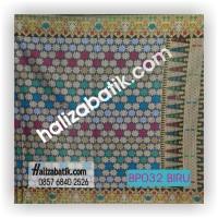 Model Baju Terbaru, Butik Baju Batik, Jual Baju, BP032 BIRU