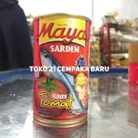 Maya Sarden Saus Tomat 155g   Sardines Ikan Kaleng Kecil 155 gr Promo