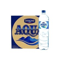 AQUA Air Mineral 1500ml 1 Karton   12 Botol x 1500 ml Kemasan Besar