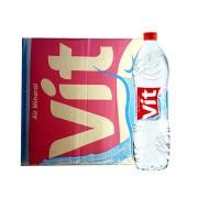VIT Air Mineral 1500ml 1 Karton   12 Botol x 1500 ml   Kemasan Besar