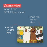 Custom Print Kartu E-Toll BCA Flazz Card Design bebas