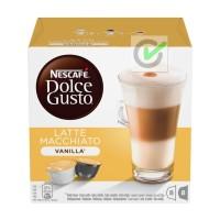 Jual NESCAFE Dolce Gusto Kapsul - Latte Macchiato Vanilla - 1 Box Murah