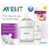 botol dot bayi phillips avent natural bottle 125cc 125ml 4oz new