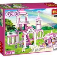 Mainan blocks COGO GIRLS 512PCS - 3263