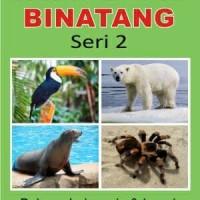 Kartu Binatang Seri 2 Flash Card Hewan Bayi Murah Mainan Edukasi